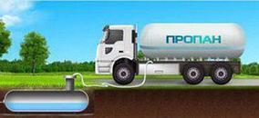 Сопровождение заправки газгольдера