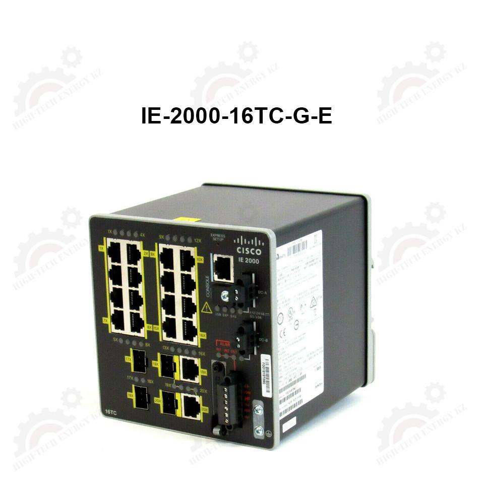 IE 16 10/100,2 FE SFP+2 T/SFP, Base with 1588