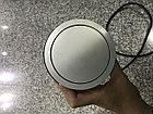 Удлинитель круглый врезной 3 розетки COMFORT (Schucko) 2xUSB 2,4A, провод 1,5м, алюминий GTV, фото 6