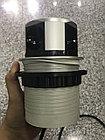 Удлинитель круглый врезной 3 розетки COMFORT (Schucko) 2xUSB 2,4A, провод 1,5м, алюминий GTV, фото 3