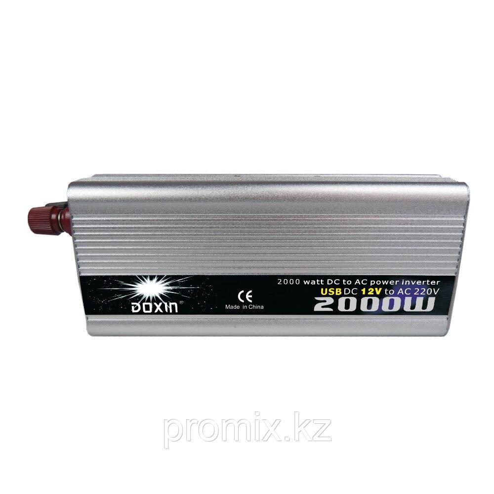 Преобразователь напряжения (инвертор) DOXIN 12В>220В, 2000Вт.