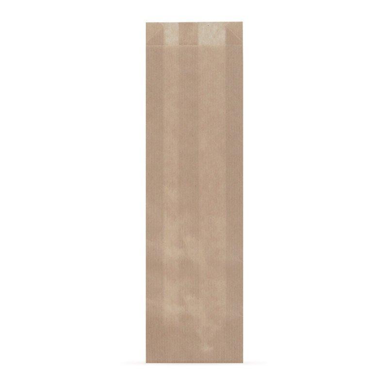 Пакет бумажный (100+50)х300 мм, крафт корич., без печати, 2500 шт