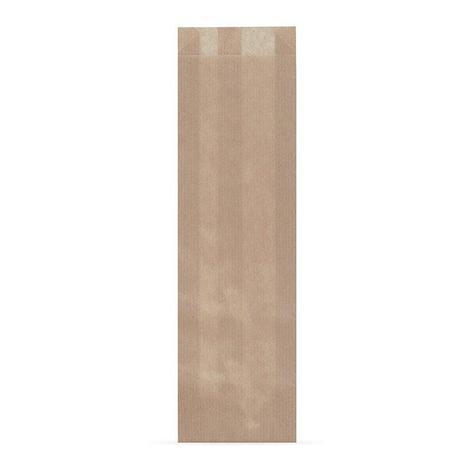 Пакет бумажный (100+50)х300 мм, крафт корич., без печати, 2500 шт, фото 2