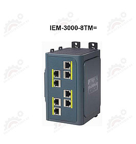 Expansion Copper module for Cisco IE-3000-4TC and IE-3000-8TC switches 8 10/100 TX ports