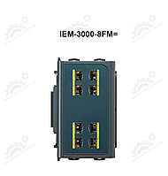 Expansion Fiber module for Cisco IE-3000-4TC and IE-3000-8TC switches8 100 FX ports