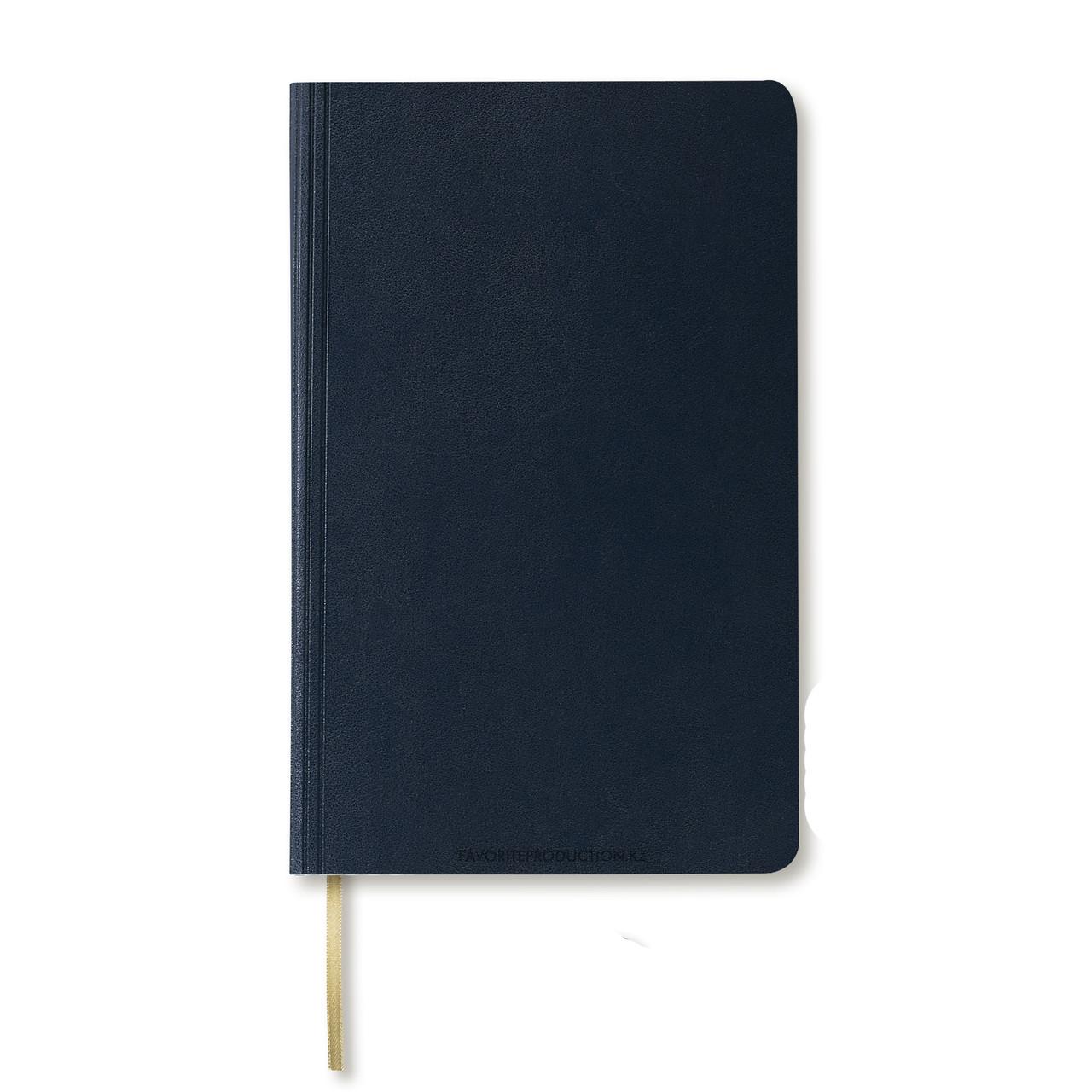 Блокнот Ivory А5. Santiago.Тёмно-синий