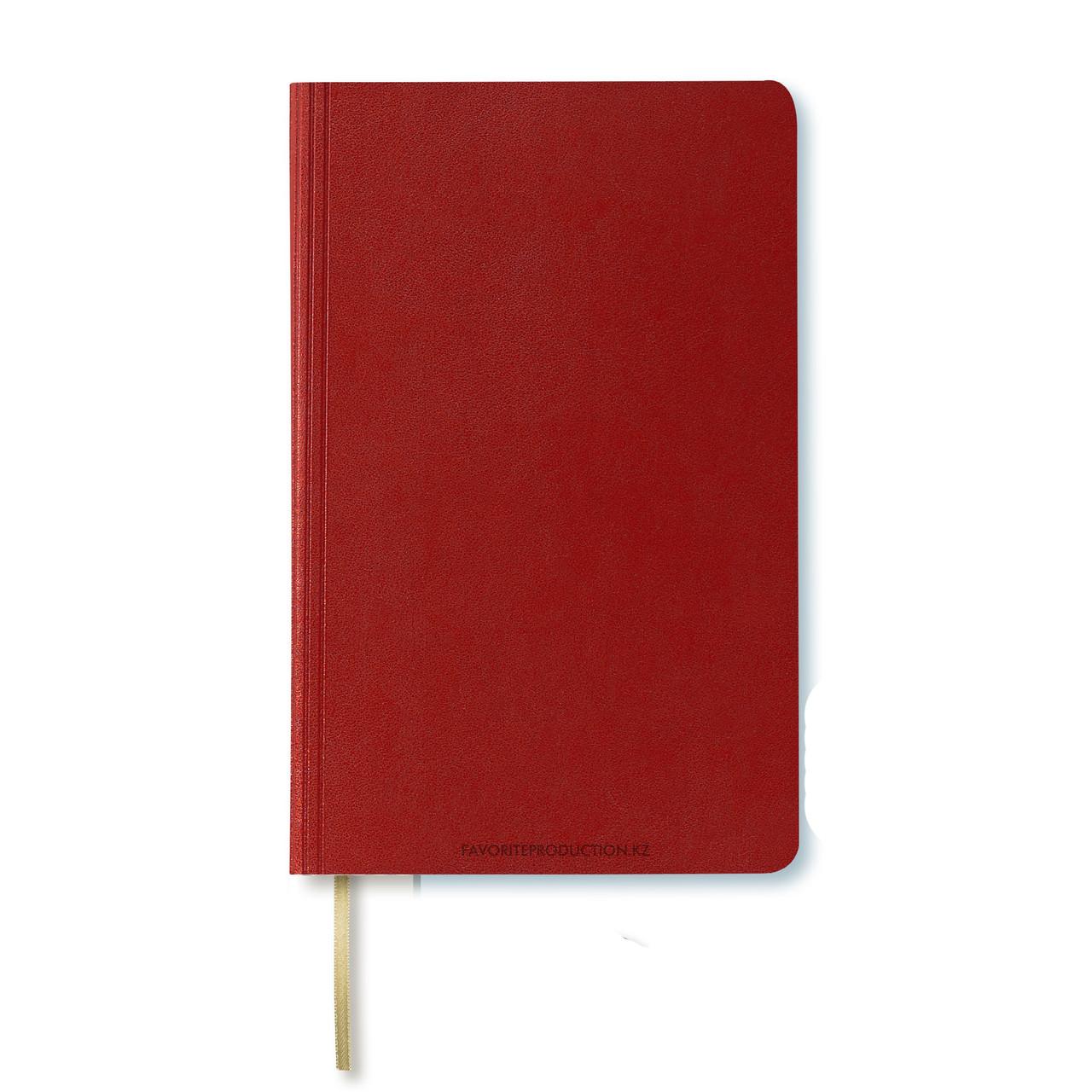 Блокнот Ivory А5. Santiago.Красный
