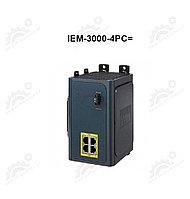 Модуль расширения PoE / PoE + для коммутаторов Cisco IE-3000-4TC и IE-3000-8TC 4 порт 10/100 PoE / PoE +