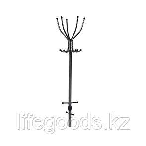 Вешалка напольная для одежды цвет черный, Ника ВК5, фото 2