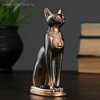 """Фигура """"Кошка египетская"""" 13см бронза"""