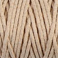 Шнур для вязания 'Пухлый' 100 хлопок ширина 5мм 100м (песочный)