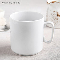 Кружка Добрушский фарфоровый завод «Джойс», 300 мл, цвет белый