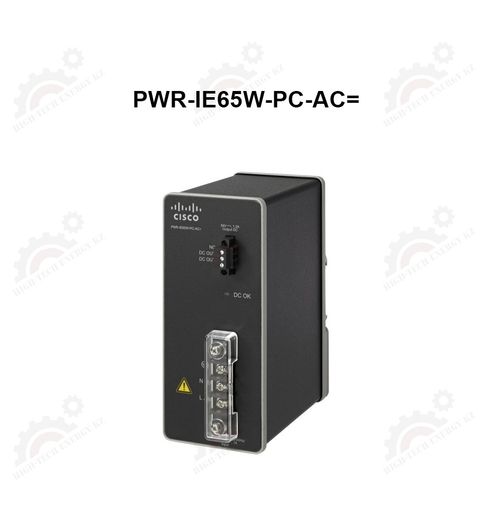 ●  AC-DC, 54VDC power module to support 65 watts for PoE/PoE+ modules