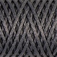 Шнур для вязания 'Классик' без сердечника 100 полиэфир ширина 4мм 100м (серый)