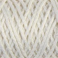 Шнур для вязания 'Классик' без сердечника 100 полиэфир ширина 4мм 100м (белый)