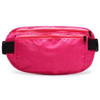 Сумка спортивная на пояс 25х13 см, цвет розовый