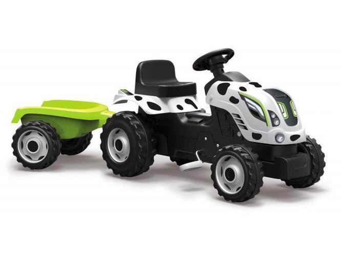 Трактор педальный XL, арт. 710113 с прицепом