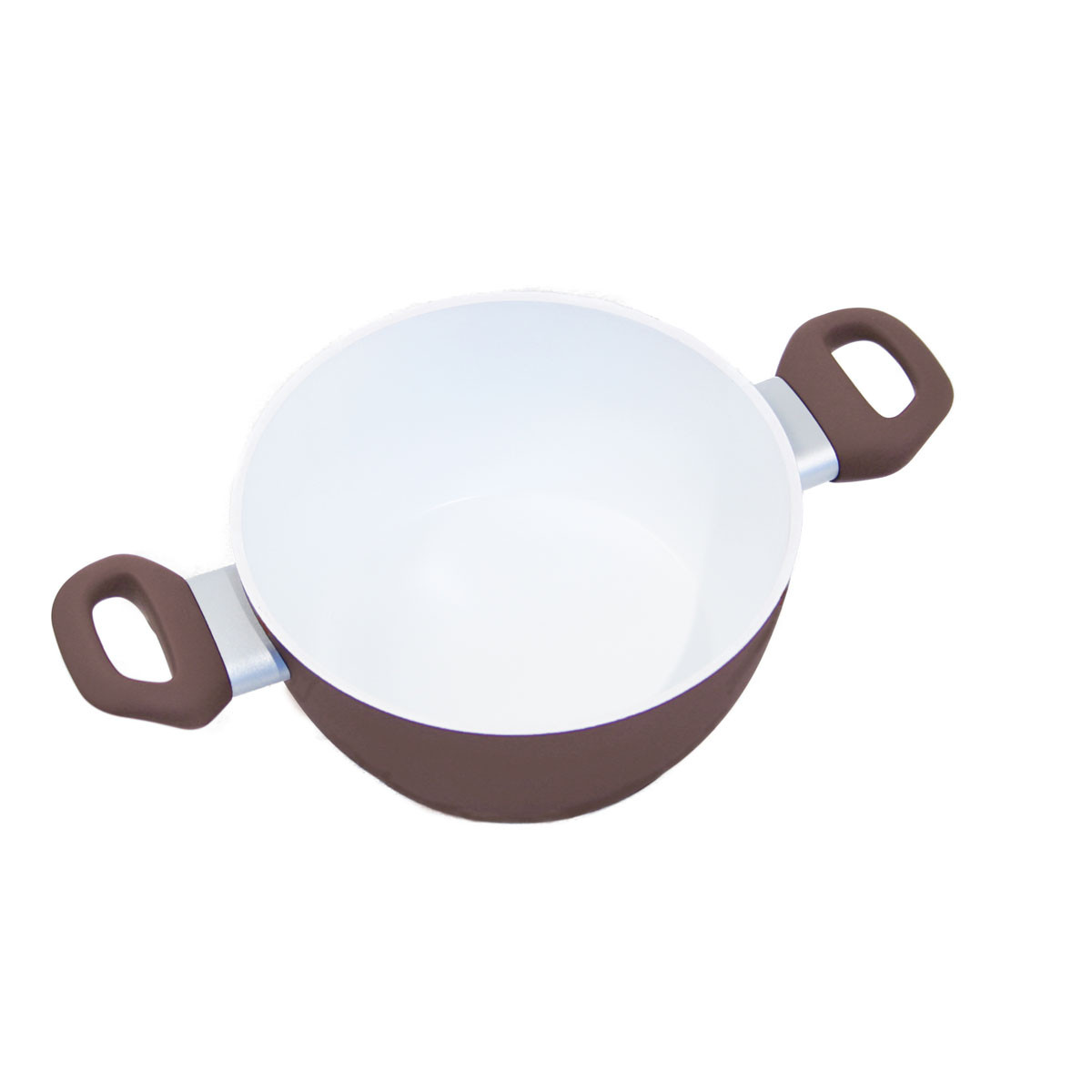 Кастрюля керамическая 24 см/4,5 л Barazzoni CAPPUCCINO (84810202472)