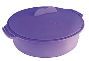 Пароварка круглая, силиконовая 22x6,5 см 2 л. Ibili Испания 871222