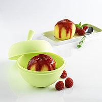 Яблоко Mastrad из силикона для запекания,зеленое - в подарочной упаковке F71108