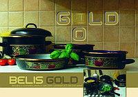 Кастрюля Belis 16 см 1,25 л. с крышкой belis gold