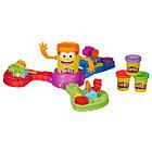 Игровой набор Play-Doh ДоДошка с 3 баночками  и сборн.устан