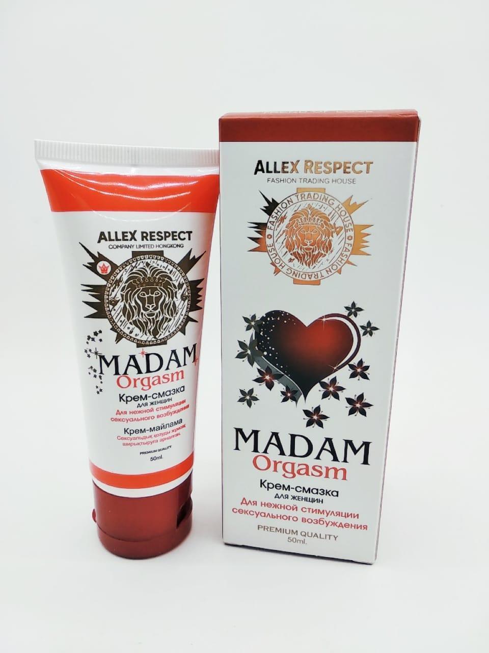Крем смазка для женщин Madam Orgasm, 50 мл.