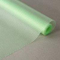 Коврик противоскользящий 30х150 см 'Круги', цвет зеленый, прозрачный