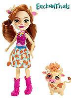 Кукла Enchantimals Коровка, фото 1