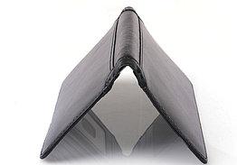 Тонкое кожаное портмоне с RFID protected. Натуральная кожа. Отличный подарок. Kaspi RED. Рассрочка