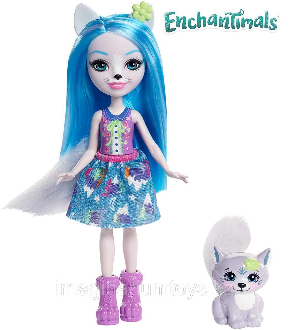 Кукла Enchantimals Винсли Волк