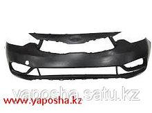 Бампер Kia Cerato 2013-206-/серый/
