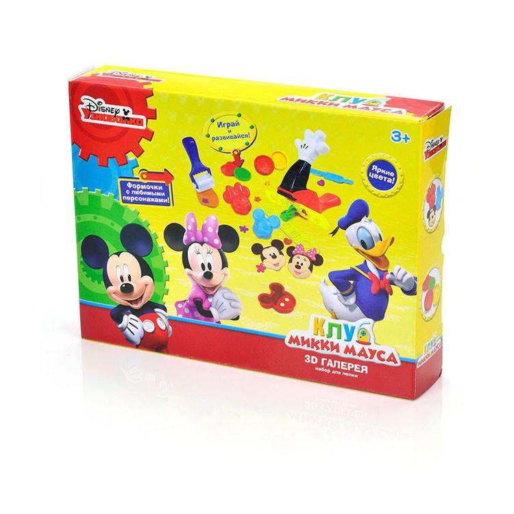"""Набор для лепки Disney Клуб Микки Мауса """"3D  галерея"""""""