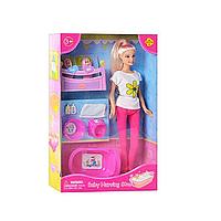 Кукла Defa Lucy (29см) с малышами и банными принадлежностями