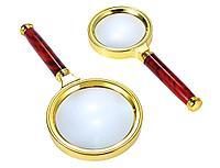 Лупа винтажная для чтения Magnifier, 16,5см., фото 1