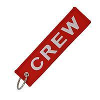 Брелок-ремувка Crew, красный цвет