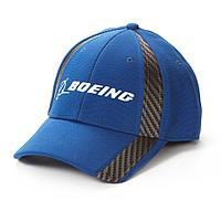 Кепка Boeing, с карбоновыми вставками, синий цвет