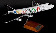 Модель самолета Boeing 747-200SF N521UP в ливрее UPS Olympic , масштаб 1/200