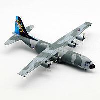 Модель самолета Lockheed Martin C-130H-30 Hercules (L-382) G-275 в раскраске Netherlands Air Force, масштаб