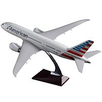 Модель самолета Boeing 787 Dreamliner в ливрее American Airlines, масштаб 1/150