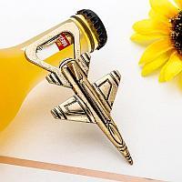 Открывашка для бутылок самолет военной авиации, бронзовый цвет