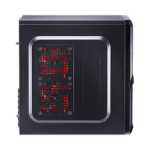 Компьютерный корпус Aerocool V3X Advance Devil Red Edition без Б/П, фото 2