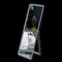 Зеркало напольное (550х1505 мм) хром арт. AST05