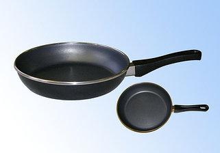 Сковороды эмалированные, из нержавеющей стали с тефлоновым и керамическим покрытием