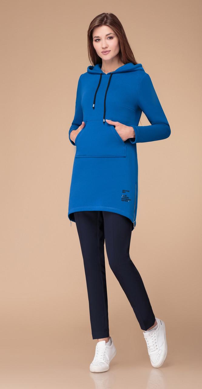 Платье Svetlana Style-1268, синий, 42