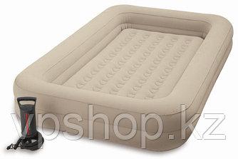 Детская надувная кровать с бортиками INTEX 68810