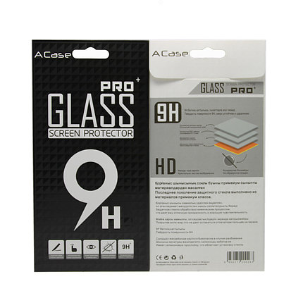 Защитное стекло Samsung A80 2019, Samsung A805 2019 Окантовка Black A-Case, фото 2