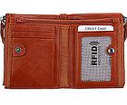 Кожаный бумажник с защитой RFID - Сохраните свои деньги!, фото 3