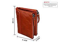 Кожаный бумажник с защитой RFID - Сохраните свои деньги!