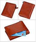 Кожаный бумажник с защитой RFID - Сохраните свои деньги!, фото 6